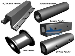 Marine Fender Rubber Fenders of different types
