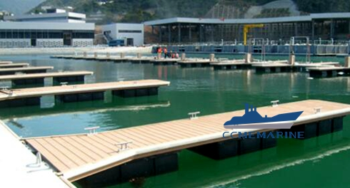 Floating Dock Safety With Fender & Fire Fighting accessories