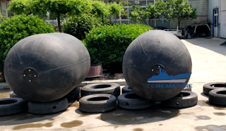 Sling Type Floating Pneumatic Rubber Marine Fenders