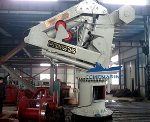 Marine Hydraulic Telescopic Knuckle Boom Crane