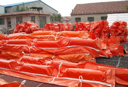 PVC Oil Permanent Containment Boom Floating Oil Spill Containment Boom