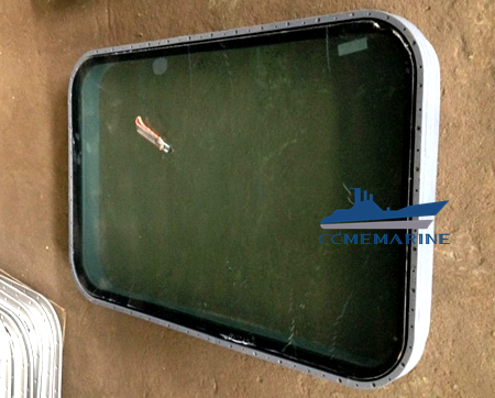 Marine Steel Rectangular Window for Wheelhouse