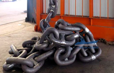 Offshore Stud And Studless Marine Ship Anchor Chains