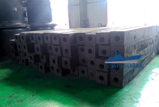 Marine Rubber Fenders Ship Square Type Fender